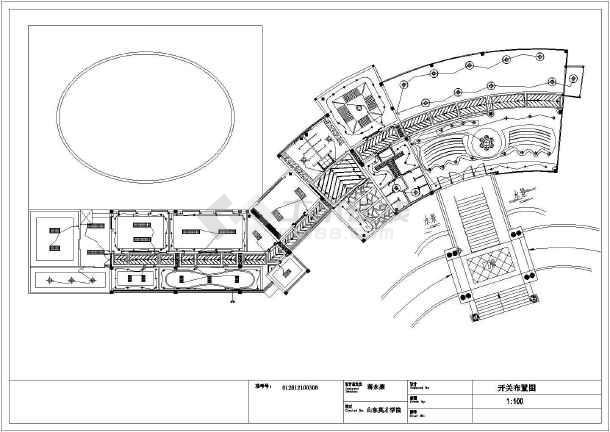 【江苏】某商务会所室内设计施工图