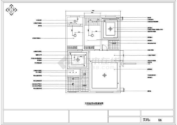 【湖南】某简约欧式风格家居装修设计图