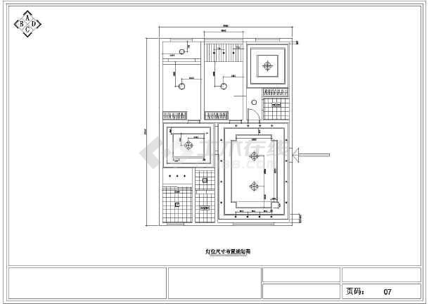 本资料为湖南某简约欧式风格家居装修设计图,包括原始结构图,平面图