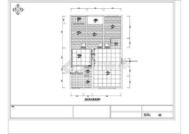 风格家居装修设计图,包括原始结构图