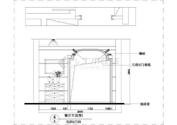 【北京】精品a精品欧式三层复式坦克室内装修施v精品图纸别墅图片