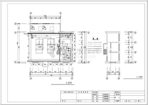 【黑龙江】某四吨锅炉房水暖设计图纸图片
