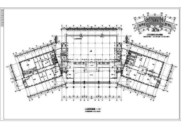 某地美术馆建筑平面图设计