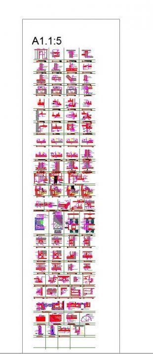 装修电子线路1500套通用详图图cad节点(非常图纸节点cad考试大纲图片