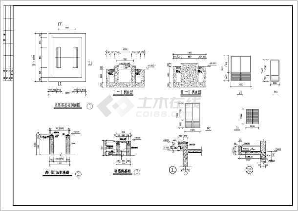 某地电子厂单层配电房建筑设计施工图中牟县室内设计理念图片