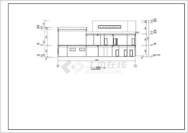 某地区某三层楼幼儿园建筑设计施工图