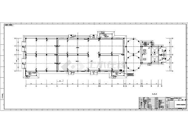 项目 脱硫 综合楼 沁北电 强电 华能 三期工程/华能沁北电厂三期工程脱硫岛项目7层综合楼强电图/图1