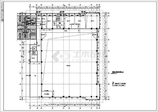 结构施工图简介:  某综合楼建筑,结构施工图,地下一层机房,一层泳池