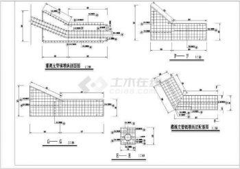 【混凝土】某水电站钢管结构叉管镇墩配筋层高cad压力图纸看怎么图片