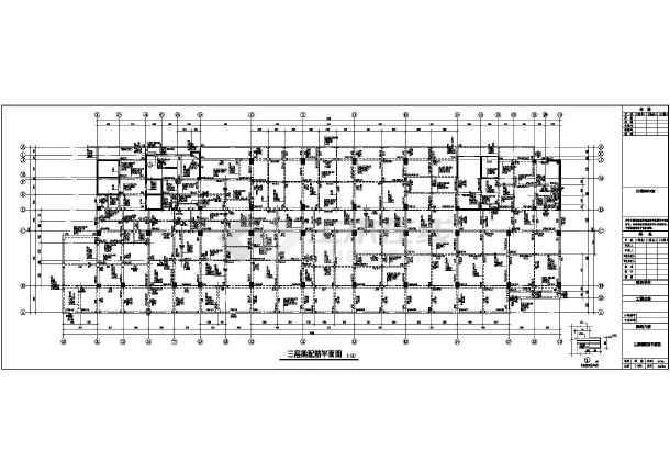 简介:图纸内容包括:结构设计总说明,基础平面布置图,抗浮锚杆平面