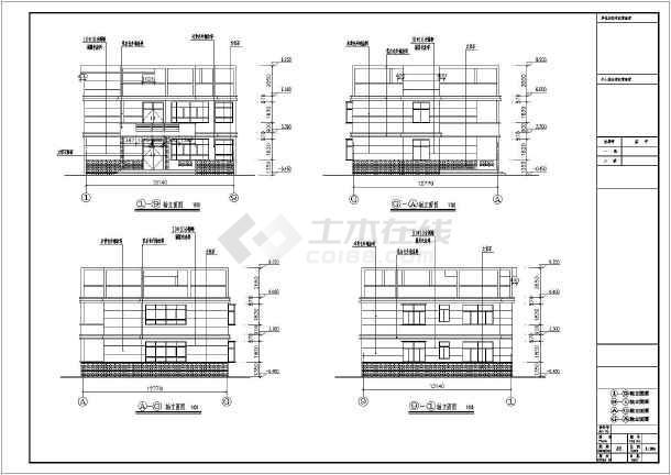 农村自建出租房设计图