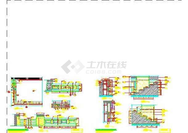 西餐厅厨房平面图