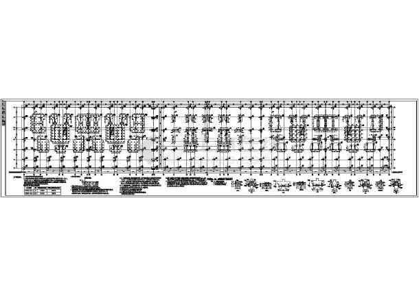 楼桩基cad电梯结构设计图(含电源挖孔灌注桩设日立盒平面人工图纸图片