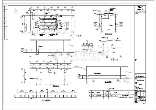 图纸 建筑结构图 钢结构图纸 钢框架结构 某地工厂钢结构房屋结构设计