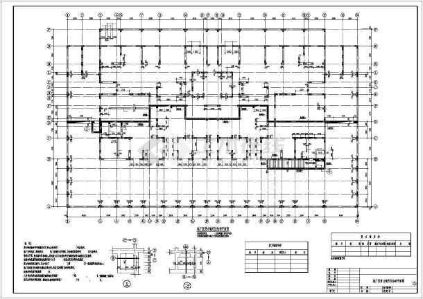 某点式三十层纯剪力墙结构高层住宅设计图 图3 高清图片
