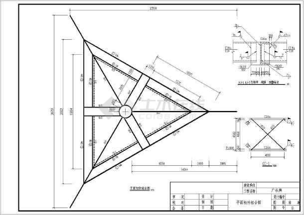 单立柱广告牌施工图 单立柱广告牌基础施工图