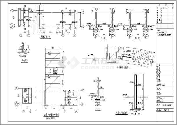 喷泉构造图_某两层别墅建筑设计图喷泉口设计师图库
