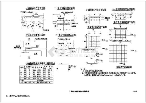 某高速公路16米简支空心板桥v衣柜设计图_cad衣柜实用图纸图片
