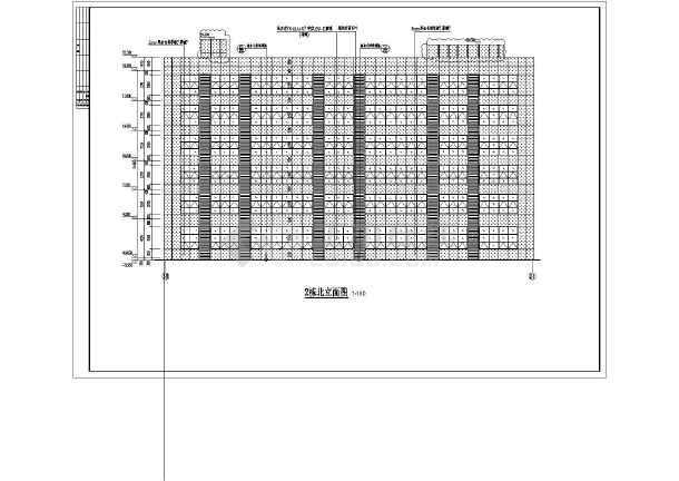 地6层金融创意产业园设计布包图纸办公深化大楼幕墙拼图纸图片