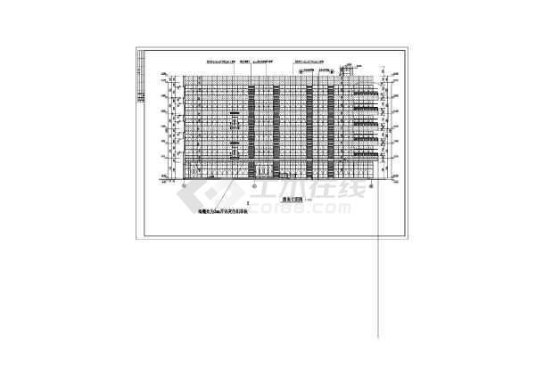 某地6层幕墙创意产业园办公图纸大楼设计深化注意该的金融五金加工图片