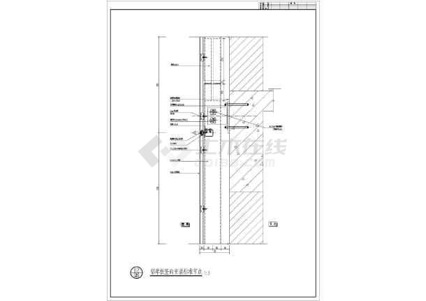某地6层图纸创意产业园设计幕墙大楼办公深化dcl意思金融什么上图片