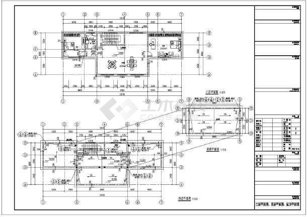 简介:   该为某新农村三层住宅楼建筑设计施工图,局部四层,长条形