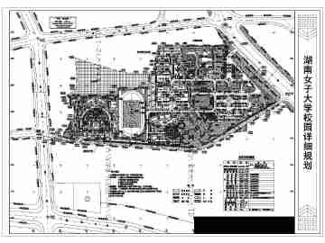 校园花坛平面图