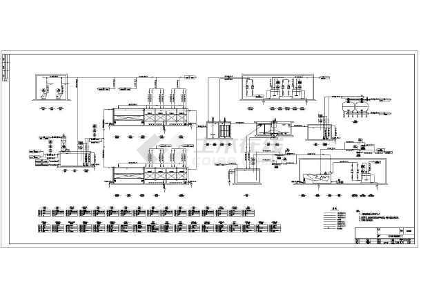 化工厂化学水项目管道&仪表(pid)图纸