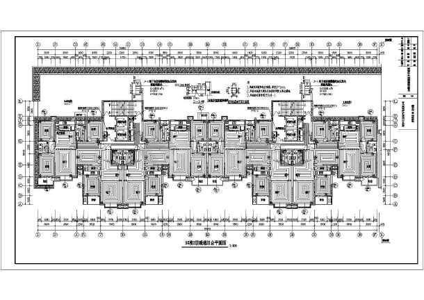 定州君悦华府高层供热通风施工设计图
