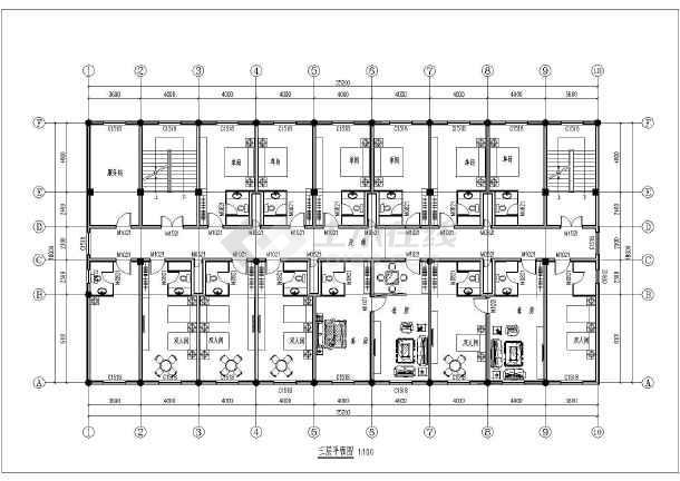 简介:宾馆建筑设计方案,三层的宾馆,四层大会议室,图纸包括:一层平面