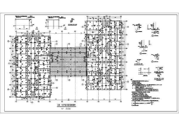还是一个小型的多塔结构,墙柱计算比较困难,难免出现超筋,施工缝超限