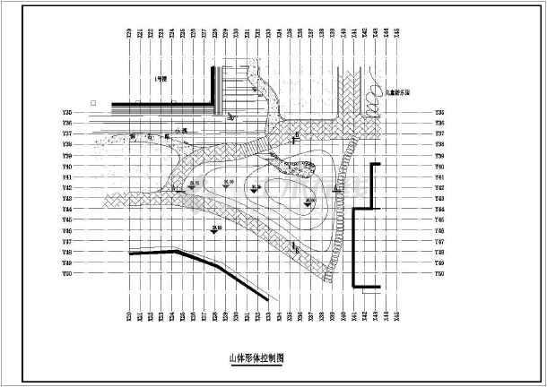 某居民楼 小区 总平面图建筑 施工图纸 cad图纸图片
