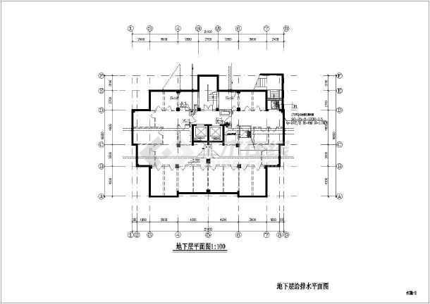 某十五层普通住宅给排水设计施工图120图纸房子设计图片