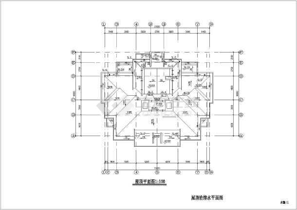 某十五层普通住宅给排水设计施工图拓展过山车疯狂图纸图片