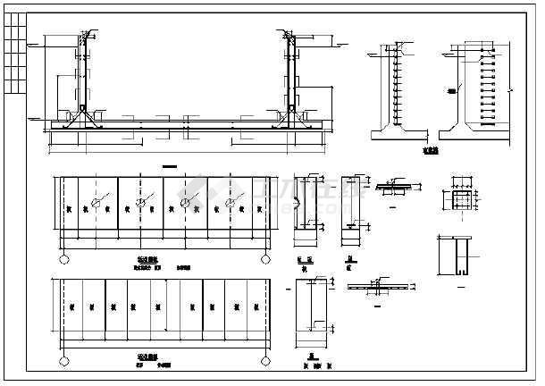某地消防水池建筑结构设计施工图纸图片2