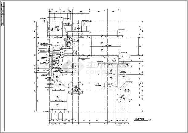古典雅致中式别墅全套建筑设计施工图纸