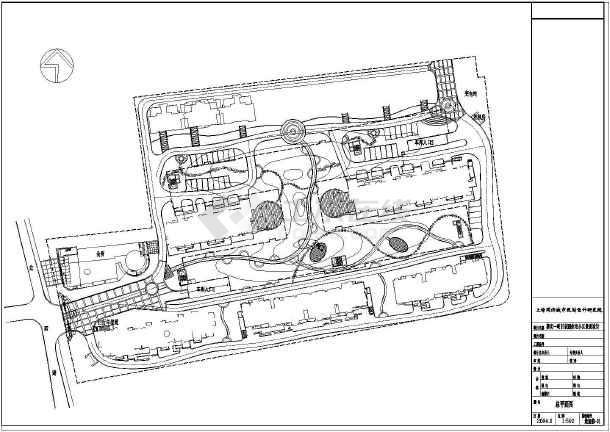 【竖向设计图】苏州住宅小区坐标全套设计图(2007cad景观设置怎么图片