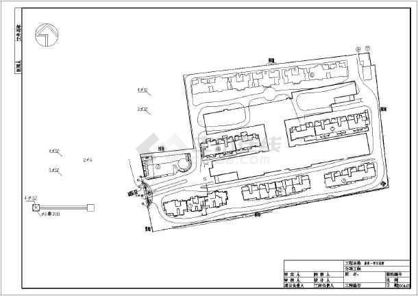 【竖向设计图】苏州住宅小区全套景观设计图(鸿业+cad工具栏了不见图片