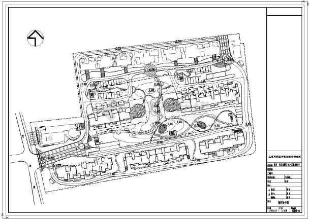 【竖向设计图】苏州住宅小区景观全套设计图(v景观如何cad填充过密图片