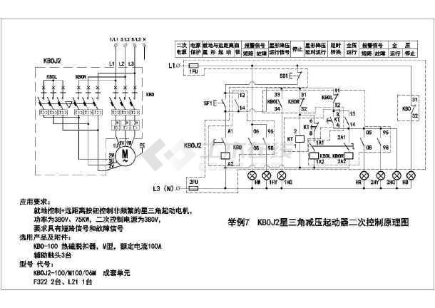KB0系列控制与保护开关电器控制CAD图_cadcad化教程的视频参数图片