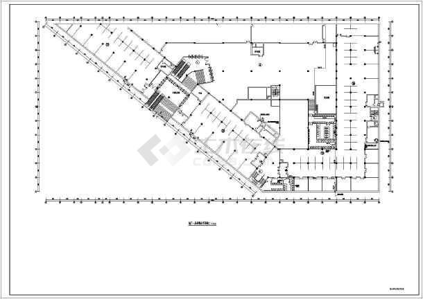 结构地下商场给排水消防施工图,图纸包括:给排水设计说明,图纸设备表