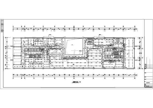设计 写字楼/某二十七层写字楼电气设计施工图(强电)/图1