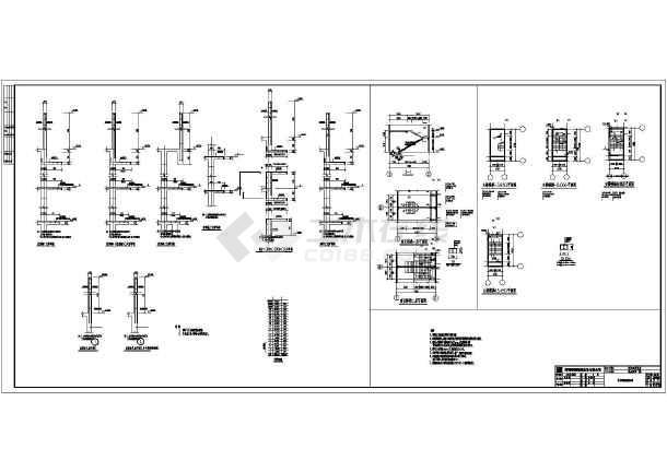 各标高层剪力墙平面布置图,各层梁,板梁平法施工图,楼梯结构图等.