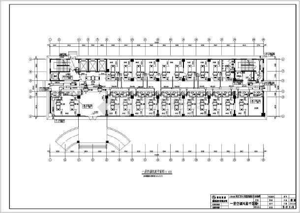 山东安丘十四层人民医院综合楼暖通设计图纸