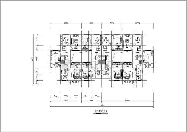 该方案为现代仿古四合院两层联排别墅方案设计,别墅面积为160平方米和