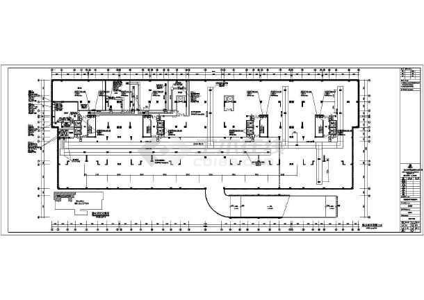 某十八层车库下带柱头防通风排烟v车库图纸_c石材图纸cad住宅图片