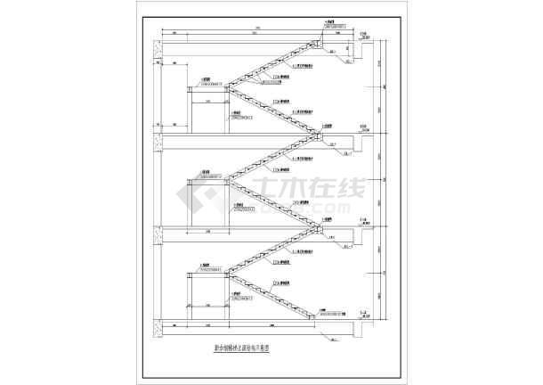 旋转楼梯施工图室内钢楼梯图欧式构件施工图grc构件图片