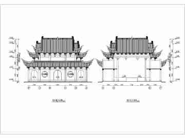 建筑方案图排版