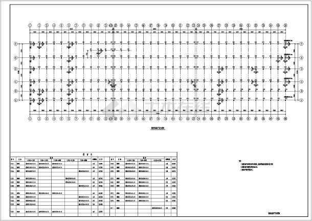 某地钢框架结构涂装厂房-图1