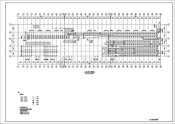 某地钢框架结构涂装厂房-图3